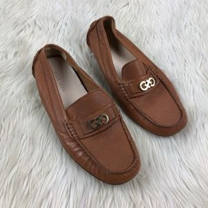 Cole Haan Shelby CH Logo Driving Moccasin Loafer